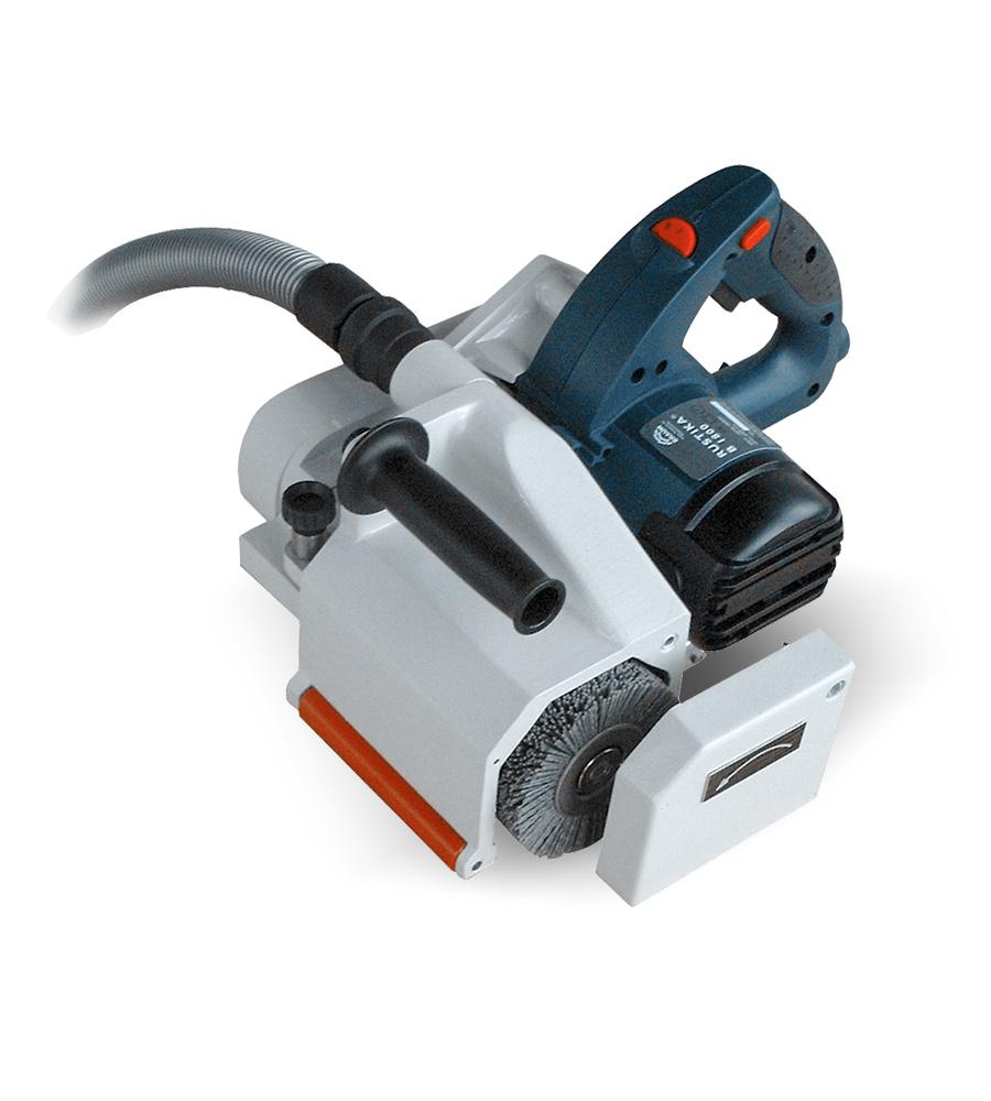 Professionelle Bürstmaschine für kleinere Produktionsmengen oder als Ergänzung zu Stationärmaschine